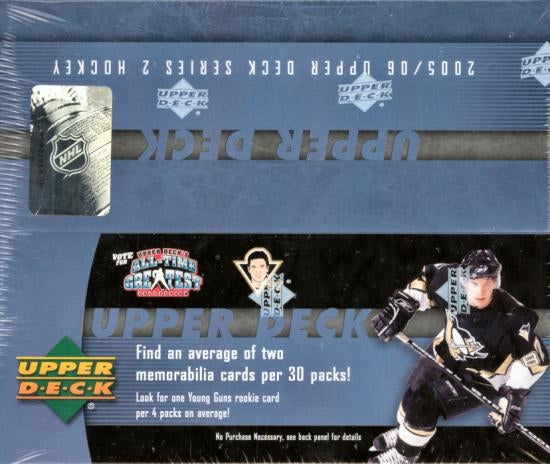 2005-06 Upper Deck Series 2 Hockey Retail Box - BigBoi Cards