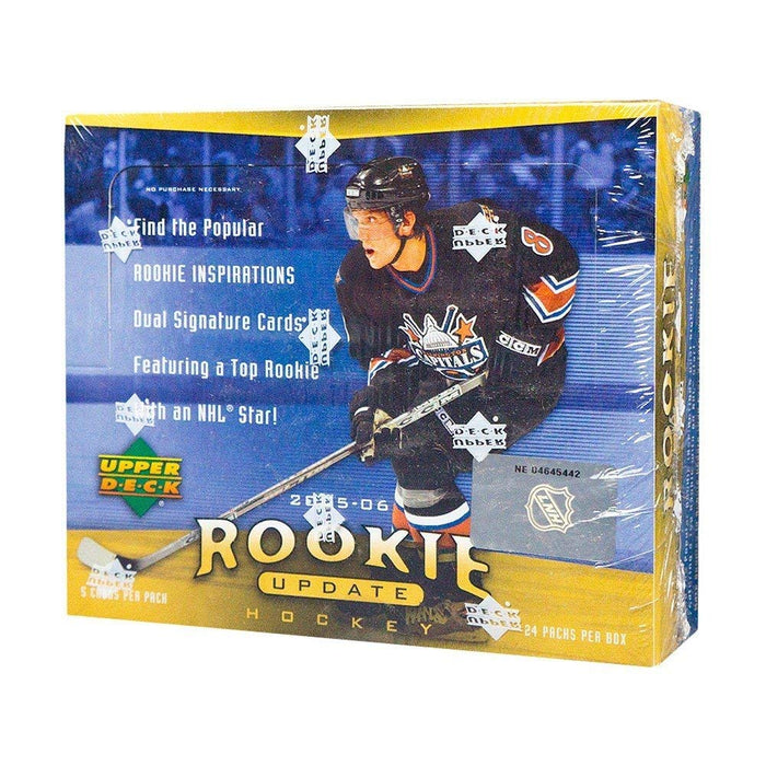2005-06 Upper Deck Rookie Update Hockey Hobby Box