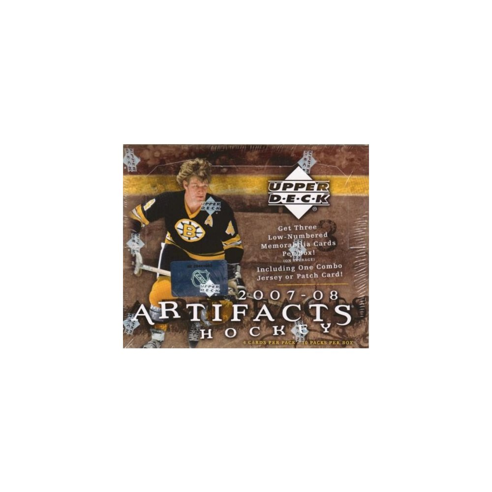 2007-08 Upper Deck Artifacts Hockey Hobby Box