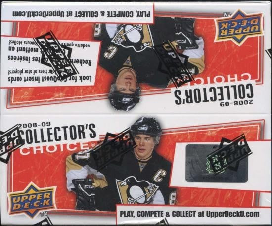 2008-09 Upper Deck Collector's Choice Hockey Hobby Box - BigBoi Cards