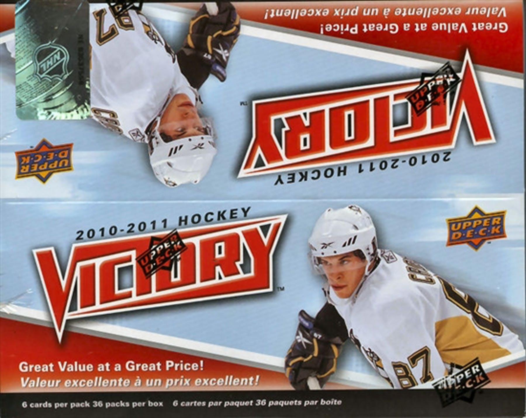 2010-11 Upper Deck Victory Hockey Hobby Box