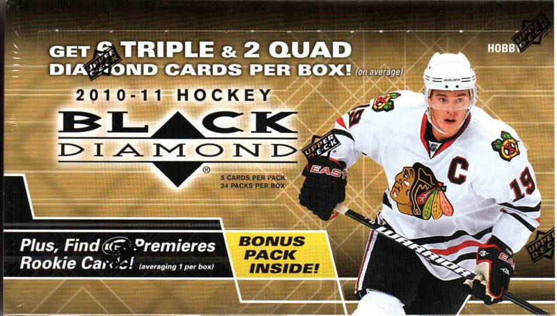 2010-11 Upper Deck Black Diamond NHL Hockey Hobby Box - BigBoi Cards