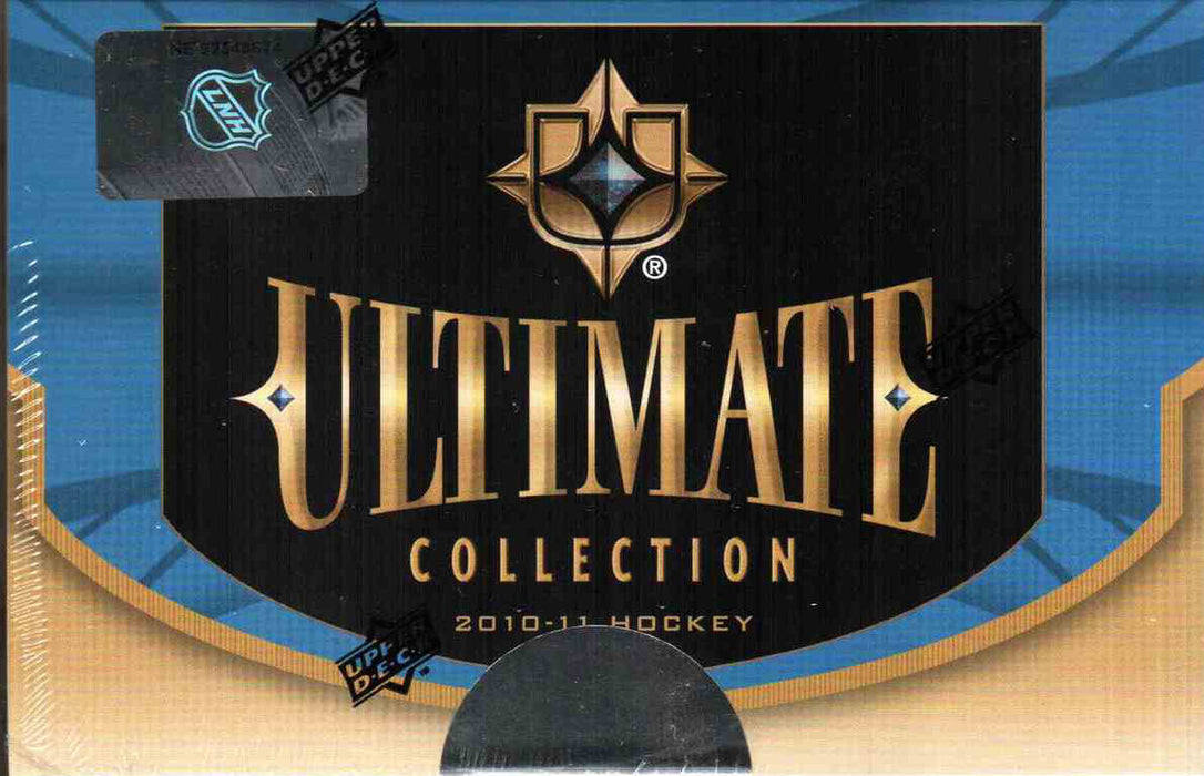 2010-11 Upper Deck Ultimate Collection NHL Hockey Hobby Box