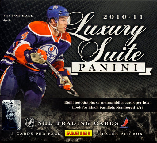 2010-11 Panini Luxury Suite Hockey Hobby Box