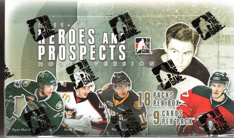2011-12 In The Game Heroes & Prospects Hockey Hobby Box - BigBoi Cards