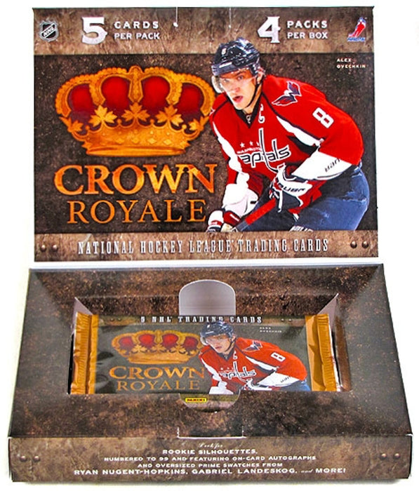 2011-12 Panini Crown Royale NHL Hockey Hobby Box