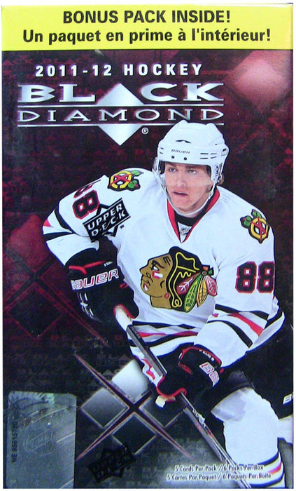 2011-12 Upper Deck Black Diamond NHL Hockey Blaster Box
