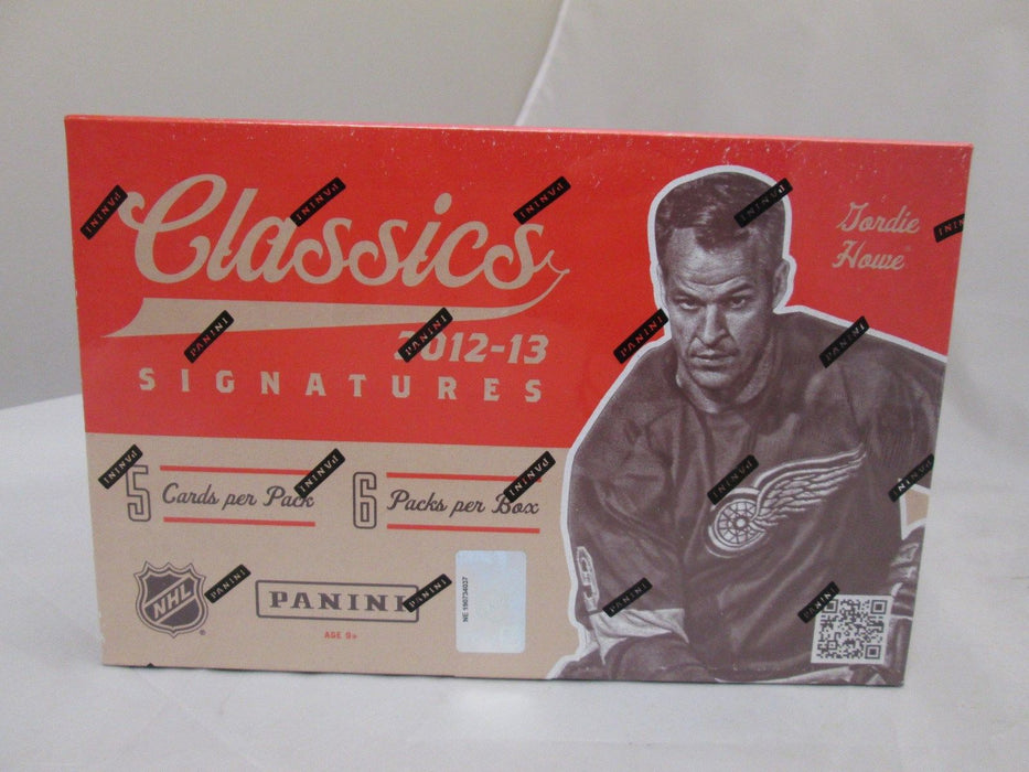 2012-13 Panini Classics Signatures Hockey Hobby Sealed box