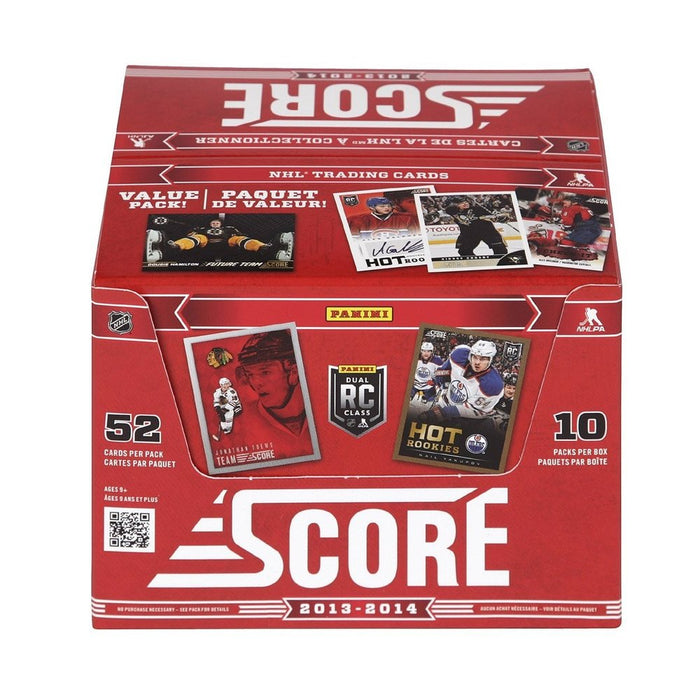 2013-14 Panini Score NHL Hockey Jumbo Box