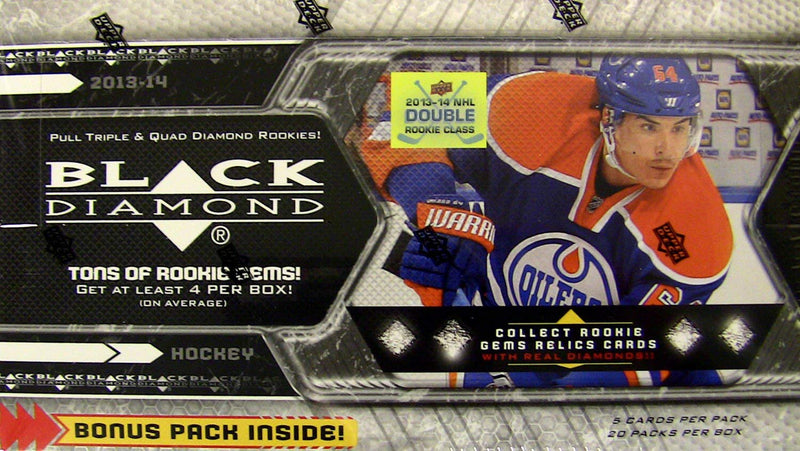2013-14 Upper Deck Black Diamond NHL Hockey Hobby Box - BigBoi Cards