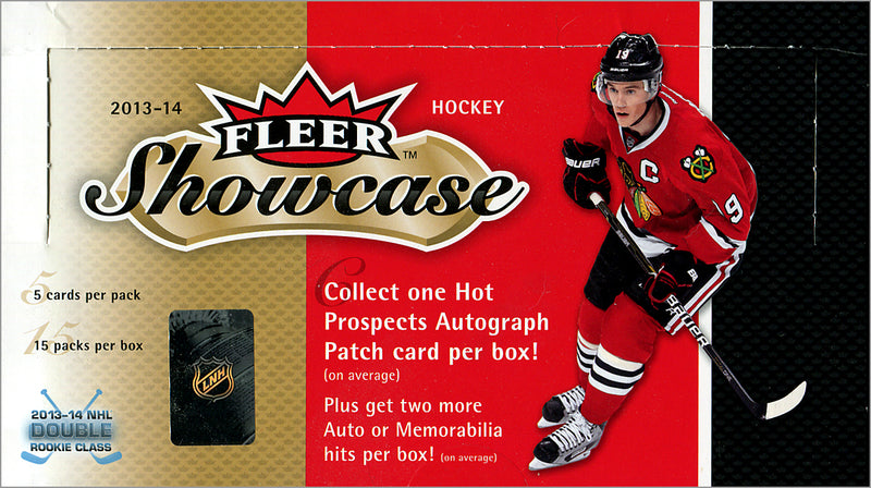 2013-14 Upper Deck Fleer Showcase NHL Hockey Hobby Box - BigBoi Cards