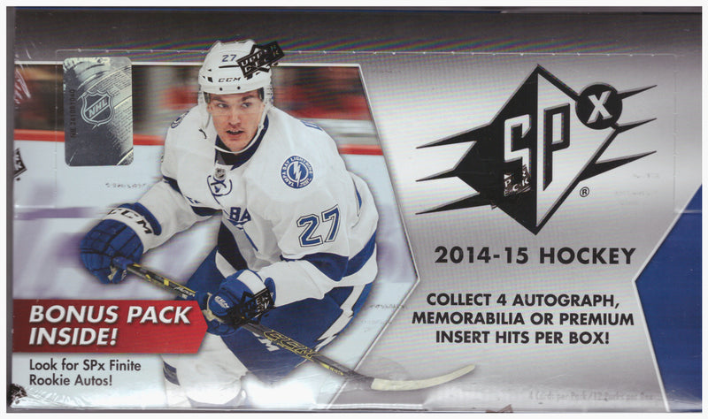 2014-15 Upper Deck SPx NHL Hockey Hobby Box - BigBoi Cards