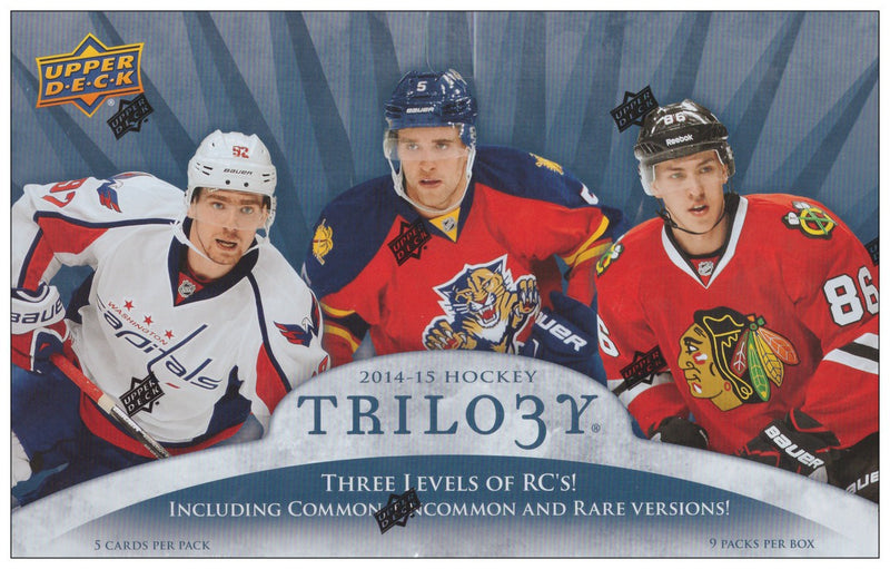 2014-15 Upper Deck Trilogy NHL Hockey Hobby Box - BigBoi Cards