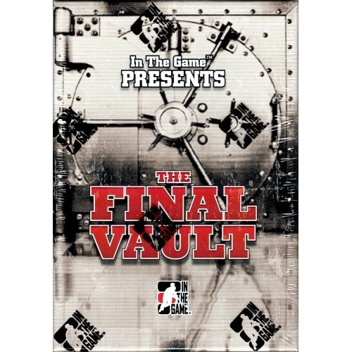 2015-16 In The Game The Final Vault Hockey Hobby Box