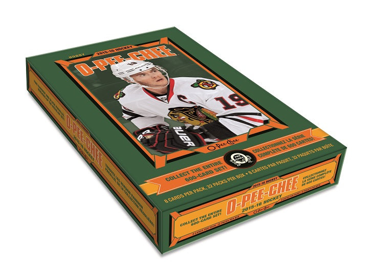 2015-16 Upper Deck O-Pee-Chee NHL Hockey Hobby Box - BigBoi Cards