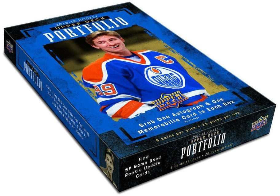 2015-16 Upper Deck Portfolio NHL Hockey Hobby Box