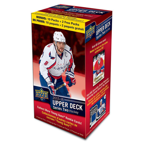 2015-16 Upper Deck Series Two NHL Hockey Blaster Box