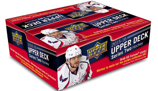 2015-16 Upper Deck Series Two NHL Hockey Retail Box