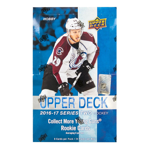 2016-17 Upper Deck Series 2 Hockey Hobby Box