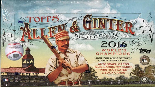 2016 Topps Allen & Ginter Baseball Hobby Box - BigBoi Cards
