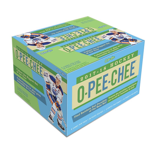 2017-18 Upper Deck O-Pee-Chee Hockey Retail Box (Case of 20)