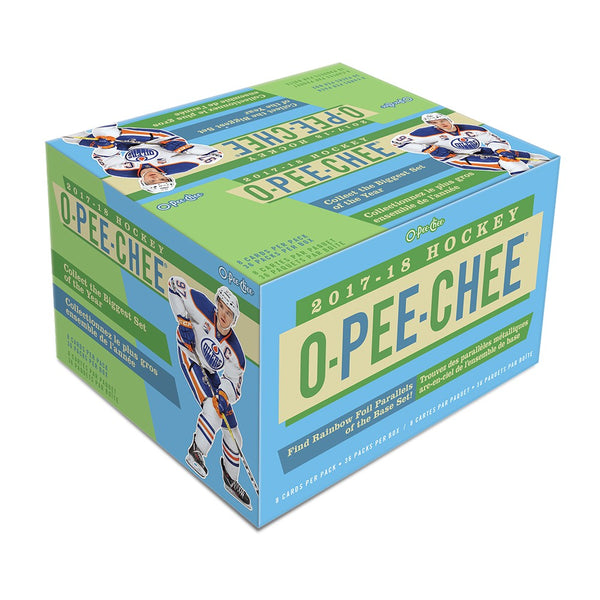 2017-18 Upper Deck O-Pee-Chee Hockey Retail Case (Boxes of 20) - BigBoi Cards