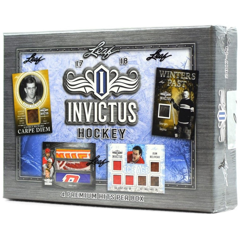 2017-18 Leaf Invictus Hockey Hobby Box - BigBoi Cards