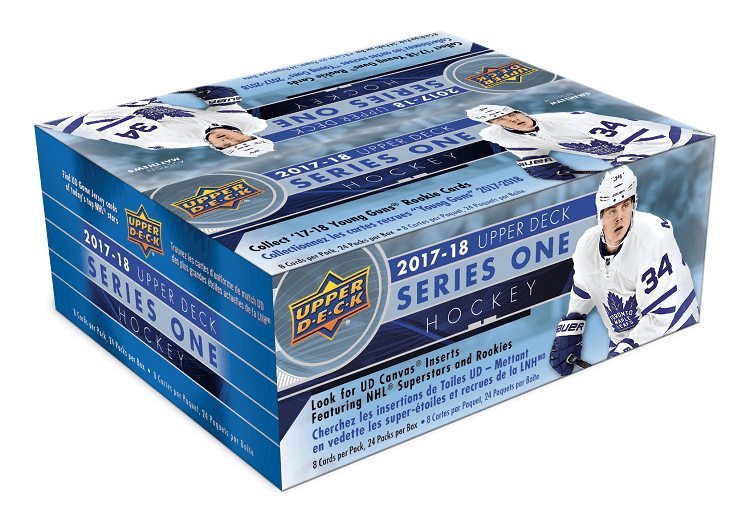 2017-18 Upper Deck Series 1 Hockey Retail Case (Boxes of 20) - BigBoi Cards