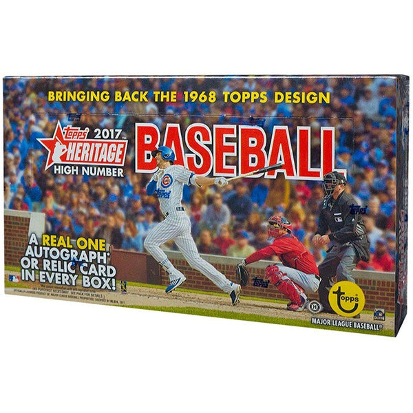 2017 Topps Heritage High Number Baseball Hobby Box - BigBoi Cards