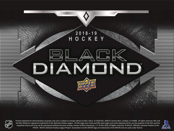 2018-19 Upper Deck Black Diamond Hockey Hobby Master Case (Boxes of 10) - BigBoi Cards