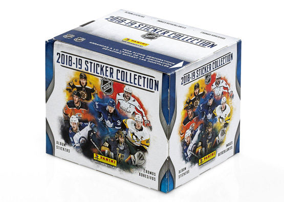 2018-19 Panini NHL Hockey Sticker Box - BigBoi Cards