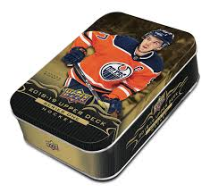 2018-19 Upper Deck Series 1 Hockey Tin