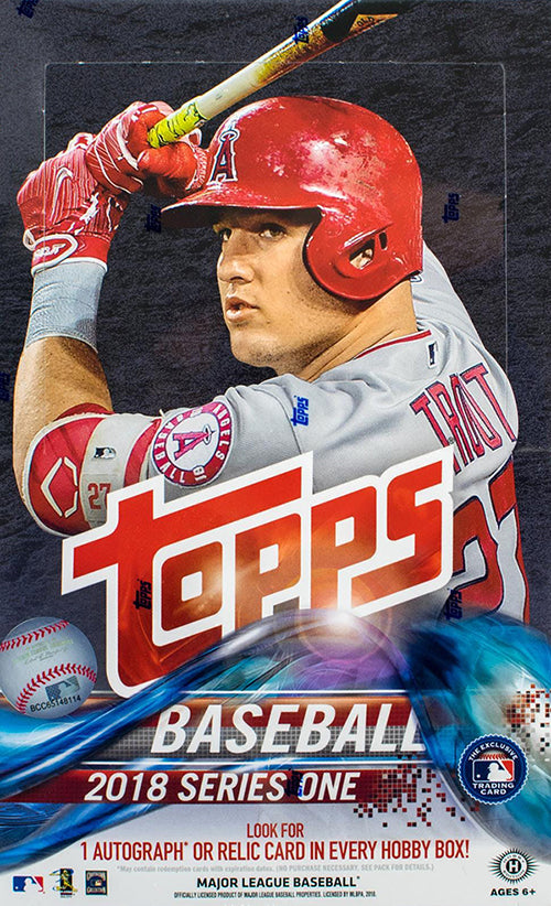 2018 Topps Series 1 Baseball Hobby Box - BigBoi Cards