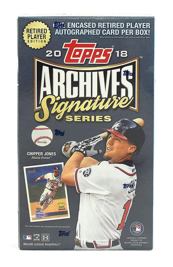 "2018 Topps Archives Signature Series ""Retired Player Edition"" Baseball Hobby Box - BigBoi Cards"