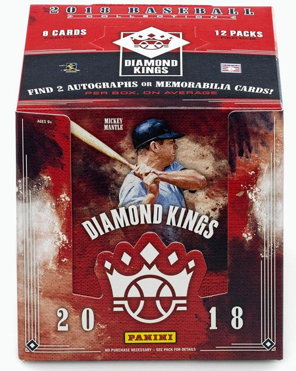 2018 Panini Diamond Kings Baseball Hobby Box - BigBoi Cards