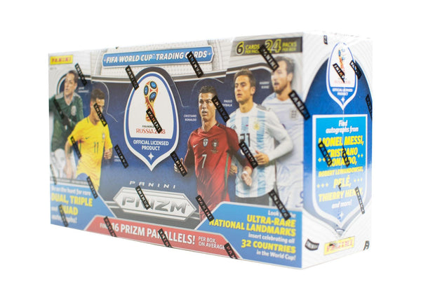 2018 Panini Prizm FIFA World Cup Soccer Hobby Case - BigBoi Cards