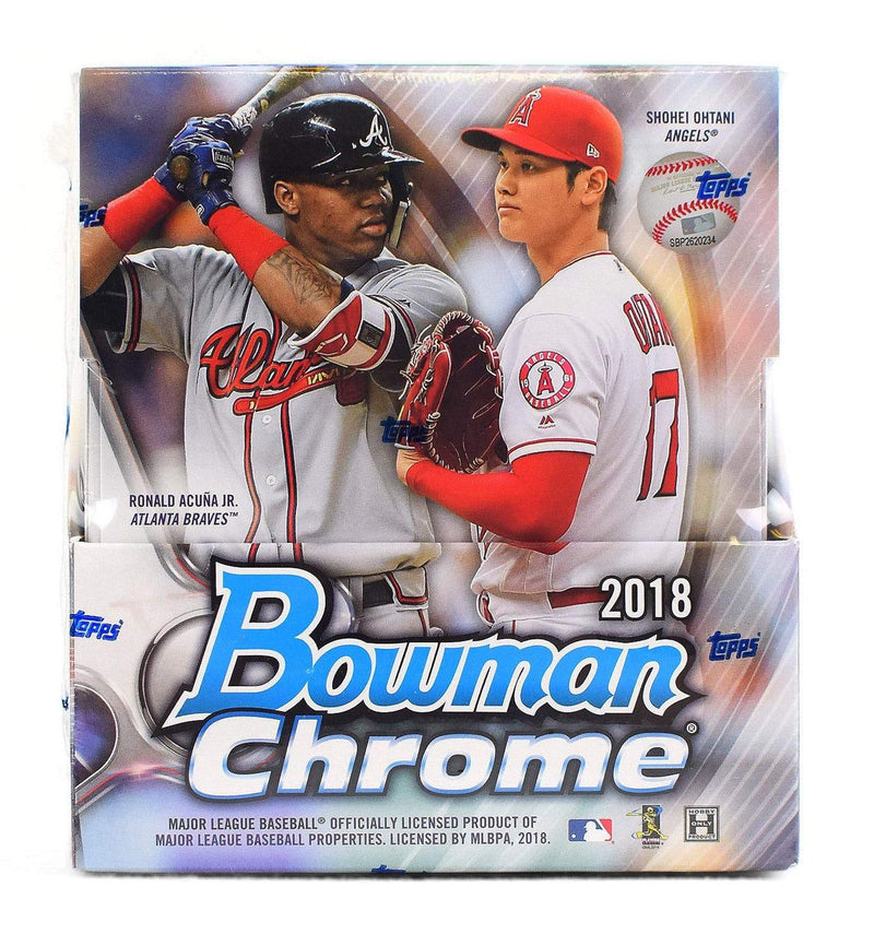 2018 Bowman Chrome Baseball Hobby Box - BigBoi Cards