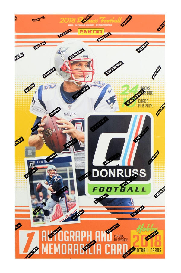 2018 Donruss Football Hobby Box - BigBoi Cards