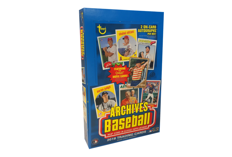 2018 Topps Archives Baseball Hobby Box - BigBoi Cards