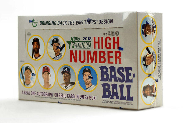 2018 Topps Heritage High Number Baseball Hobby Box - BigBoi Cards