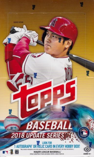 2018 Topps Update Series Baseball Hobby Box - BigBoi Cards