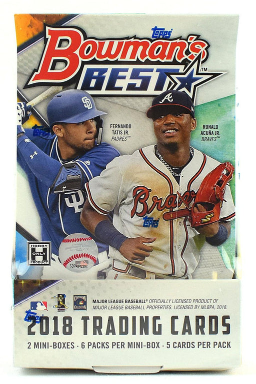 2018 Topps Bowman Best Baseball Hobby Box