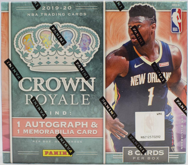 2019-20 Panini Crown Royale Basketball Hobby Box - BigBoi Cards