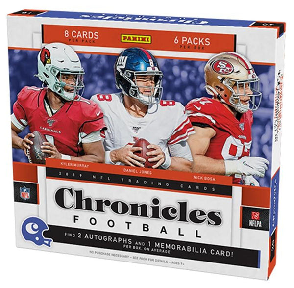 2019 Panini Chronicles Football Hobby Box - BigBoi Cards