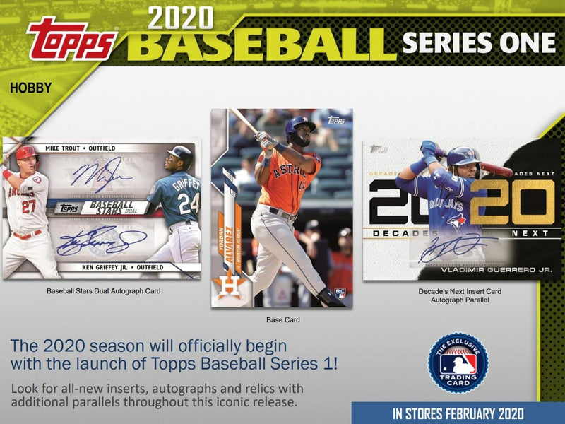 2020 Topps Series 1 Baseball Hobby Box - BigBoi Cards