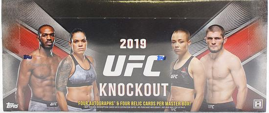 2019 Topps UFC Knockout Hobby Box - BigBoi Cards