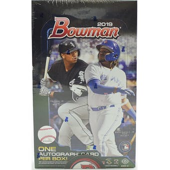 2019 Bowman Baseball Hobby Box - BigBoi Cards