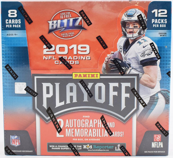 2019 Panini Playoff Football Hobby Box - BigBoi Cards