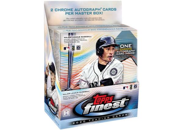 2020 Topps Finest Baseball Hobby Box - BigBoi Cards