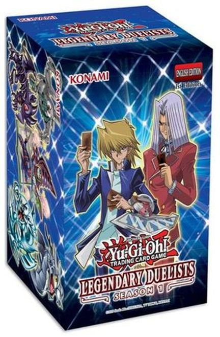 Yu Gi Oh! Legendary Duelists Season One 1st Edition Factory Sealed